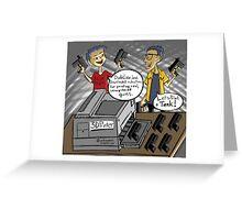 3D Printed Guns! Greeting Card