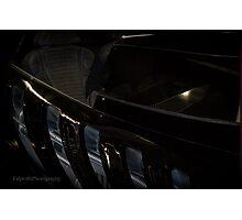 Batmobile Grill Photographic Print