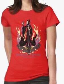 Dragon's Breath Botanical Garden Womens Fitted T-Shirt