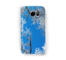 Snowy Winter Scene Samsung Galaxy Case/Skin
