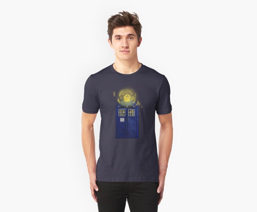 TARDIS by Sleepy-Dan