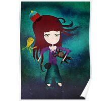 Toy fairycake tender octopus bear doll Poster