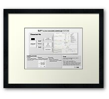 ELF101 (pro) Framed Print