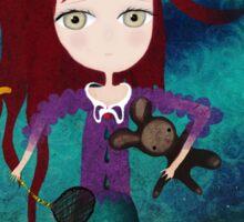 Toy fairycake tender octopus bear doll Sticker