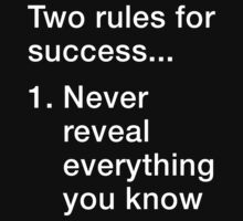 Rules for Success by azzasg