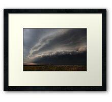 Cecil Plains Gust Front Framed Print