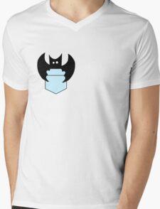 pocket bat Mens V-Neck T-Shirt