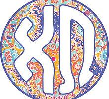 XΩ Sun Monogram by embati