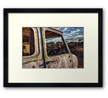Dead with a View Framed Print