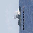 HMAS Sydney, FFG03 by Peter Doré