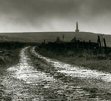 Stoodley Pike from London Road by fotohebden
