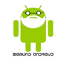 Sigmund Freud Android Photographic Print