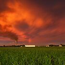 Norwell Sunset by Anthony Cornelius