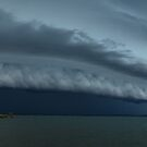 Moreton Bay Gust Front by Anthony Cornelius