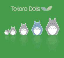 Totoro matrioska One Piece - Short Sleeve
