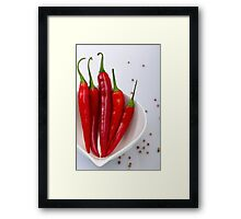 Too hot to handle Framed Print