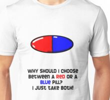 Blue or Red ? Unisex T-Shirt