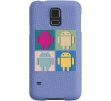Android Pop Art (Phone Cases) Samsung Galaxy Case/Skin