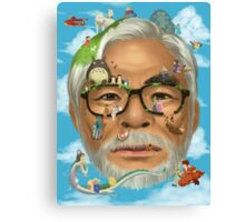 The world of miyazaki Canvas Print