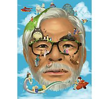 The world of miyazaki Photographic Print