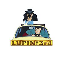 LUPIN The Third Photographic Print