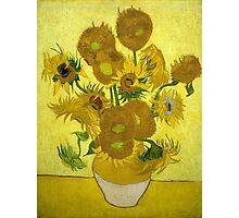 Vincent Van Gogh  - Sunflowers, 1889 Photographic Print