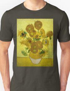 Vincent Van Gogh  - Sunflowers, 1889 Unisex T-Shirt