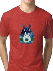 3 totoro Tri-blend T-Shirt
