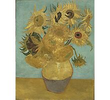 Vincent Van Gogh  - Sunflowers , Impressionism , Fine Art Photographic Print