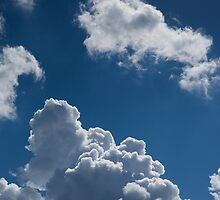 Beautifull Puffy Clouds by Chillersfather
