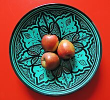 Three Apples by Alexandra Lavizzari
