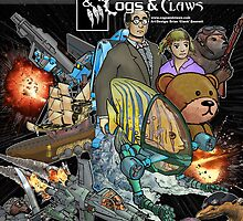 Cogs & Claws BookCover by AloftStudios