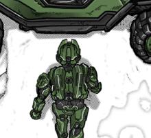 Mjolnir Armor Sticker