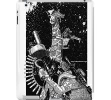 Giraffe Space Pirate iPad Case/Skin