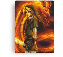 Zelda gift card Canvas Print