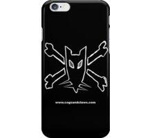 Rat & CrossBones Insignia 2 iPhone Case/Skin