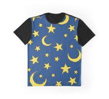 pixel stars Graphic T-Shirt