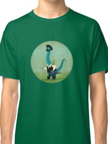 Captain Salty the pirate dinosaur Classic T-Shirt