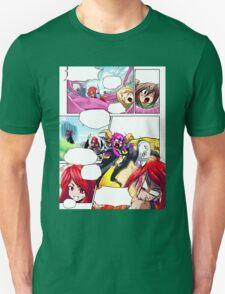 comic style Unisex T-Shirt