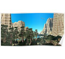 Sandstone Canyon Poster