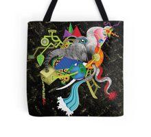 evolução - evolution Tote Bag