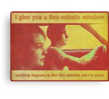 Drive - 70's style (poster/print) Canvas Print