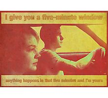 Drive - 70's style (poster/print) Photographic Print