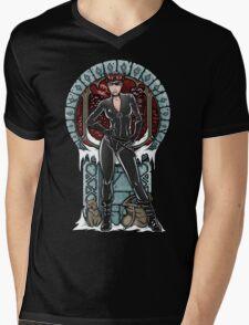 Crime Pays Mens V-Neck T-Shirt
