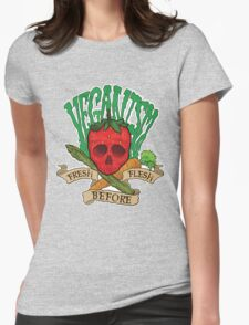 Veganism Womens Fitted T-Shirt