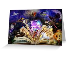 Fairytale Dreaming Greeting Card