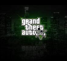 GTA V LOGO  by Leodesigns