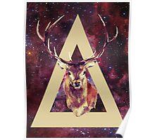 Indie Deer Poster