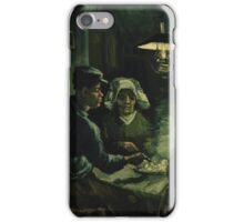 Vincent Van Gogh - The potato eaters 1885 iPhone Case/Skin