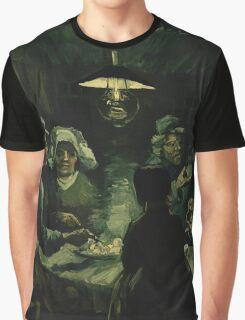 Vincent Van Gogh - The potato eaters 1885 Graphic T-Shirt